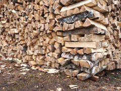 Stock Photo of firewood