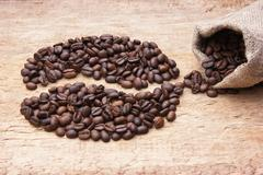 Stock Photo of picture of coffee beans