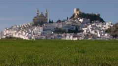 Alora, Malaga, Seville spain Stock Footage