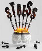Stress Stock Illustration