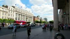 Dublin City Centre 1 Stock Footage