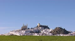 Alora Andalucia spain Stock Footage