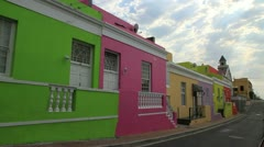 Malay Quarter,Capetown Stock Footage