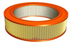 air filter - stock illustration