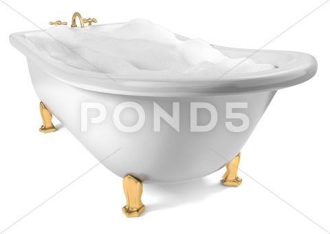Stock Illustration of after bath beauty