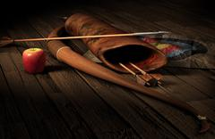 Archery Stock Illustration