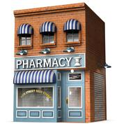 Drug store Stock Illustration
