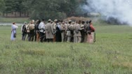 Stock Footage Clips - HD 1080p - Confederate re-enforcements on field Stock Footage