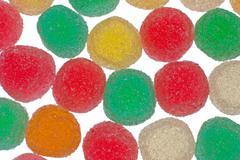 Gelly sugar candy Stock Photos