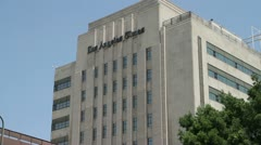 Los Angeles Times Building - stock footage