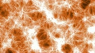 Orange Abstract Background Animation VJ DJ Stock Footage