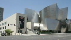 Walt Disney Concert Hall Los Angeles Stock Footage