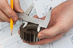 Stock Photo of technical drawing
