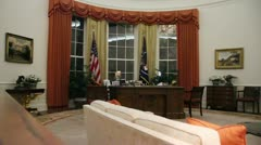 Oval Office Stock Footage