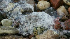 Sea Foam - macro Stock Footage