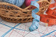 Stock Photo of balls of yarn