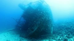 Wreck Gainis D Stock Footage