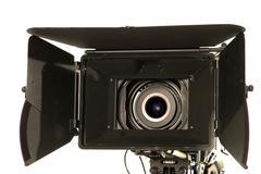 Professional digital video camera. Stock Photos