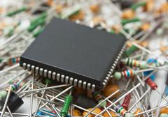 Stock Photo of central processor