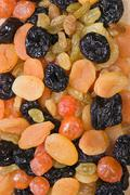 dried fruit slices - stock photo