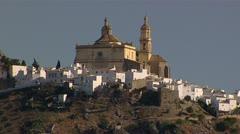 Alora near Seville spain Stock Footage