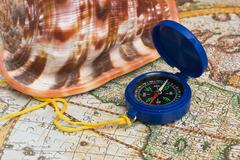 Stock Photo of compass