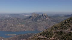 Andalucian landscape Stock Footage
