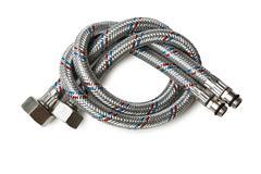 plumbing hoses - stock photo