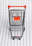 Shopping trolley Stock Photos