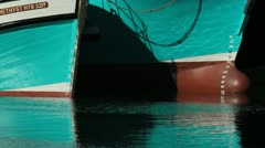 Hull reflections 2 - stock footage
