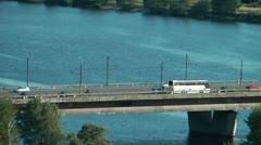 HD - Road Bridge Stock Footage