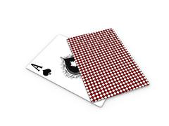poker ace card - stock illustration