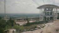 Mountain Sky Lift Stock Footage