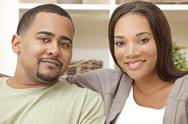 Stock Photo of happy african american man woman couple
