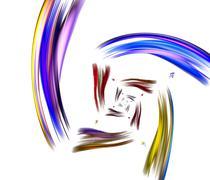 beautiful iridescent background - stock illustration