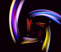 Beautiful iridescent background Stock Illustration