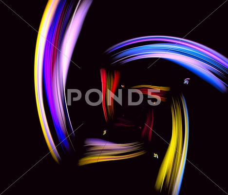 Stock Illustration of beautiful iridescent background