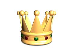 crown - stock illustration