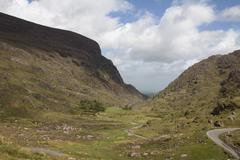 Gap of Dunloe, Ireland. Stock Photos