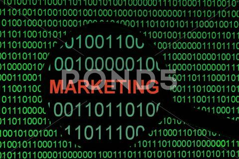 Stock Illustration of marketing