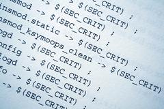 Html source codes Stock Photos