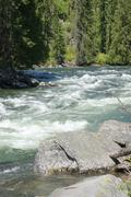 Whitewater river Stock Photos