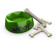 Stock Illustration of dog bowl