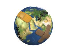 Stock Illustration of earth patch