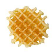 crisp waffle - stock photo