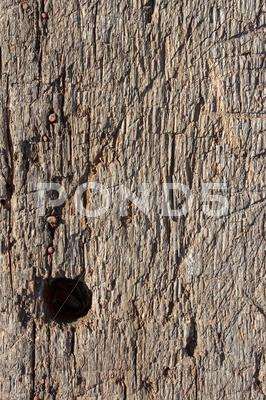 Stock photo of detail of old board