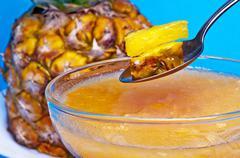 Ananas dessert Stock Photos