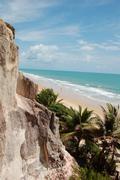Pipa, Brazil, tropical beach Stock Photos