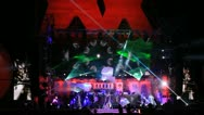 Stage show at Kazantip 2012 Stock Footage