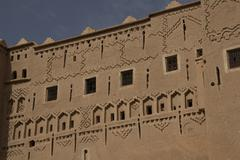 Old arab buildings, Morocco Stock Photos